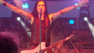"""Bruce Kulick, """"Uh! All Night / Trial By Fire"""". KISS Kruise IX. 11/1/2019"""