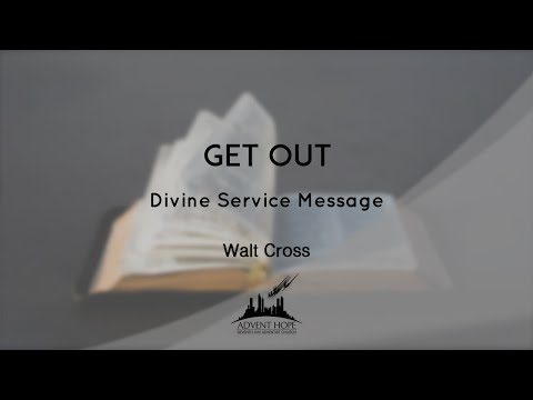Walt Cross - Developing an Effective Health Outreach Program / Walt Cross - Get Out
