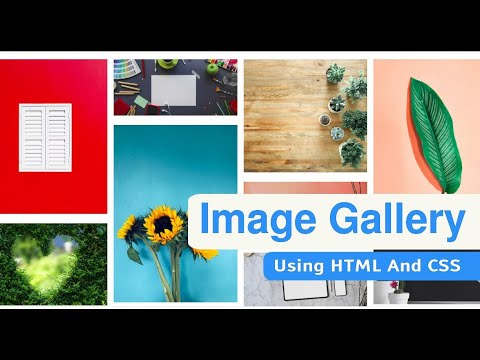 Responsive Image Gallery Using Html CSS | Awesome Masonry Layouts