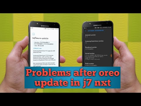 Problem after oreo update in j7 nxt | Solutions is here
