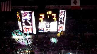 New York Rangers vs Boston Bruins - Madison Square Garden - Introduction - April 2011 (HD)