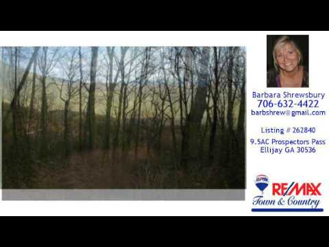 Land/Lot For Sale - 9.5AC Prospectors Pass, Ellijay, GA