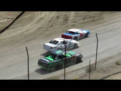 Desert Thunder Raceway IMCA Stock Car Heat Races 9/30/18