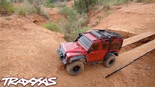 EXTENDED CUT: Take the Path Less Traveled | Traxxas TRX-4 Land Rover Defender thumbnail