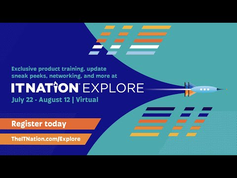 Deep dive product training for ConnectWise users at IT Nation Explore 2021
