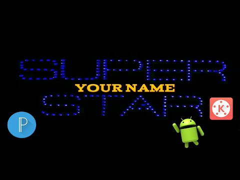 Super star title card typograpy video edit...