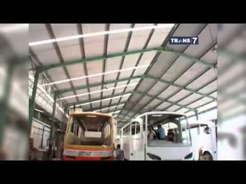 Laptop Si Unyil - Proses Pembuatan Bis Angkutan Mudik