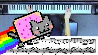 Nyan Cat ADVANCED Piano Cover with Sheet Music!