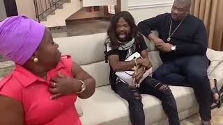 Part 3  A Moment With Sister Nkechi ft  DonJazzy Alhaji Musa Nedu Wazobia Comedy