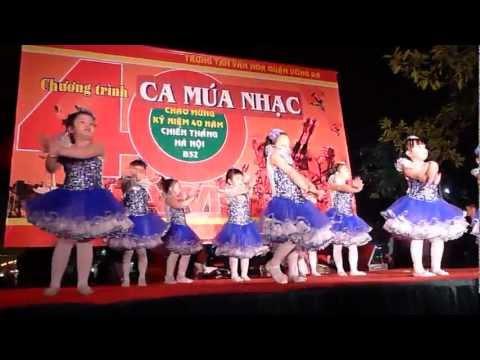 Múa : Em Là Bồ Câu Trắng, Ca múa nhạc Quận Đống Đa ( Minh Châu )