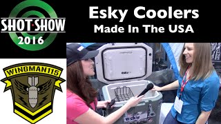 ESKY Coolers SHOT Show 2016 with Ashley Munoz