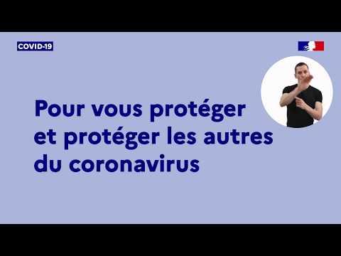 #Coronavirus #Covid19 | Connaître les gestes barrières pour se protéger