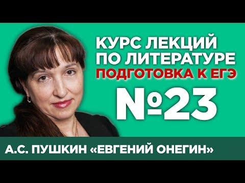 А.С. Пушкин «Евгений Онегин» (анализ тестовой части) | Лекция №23