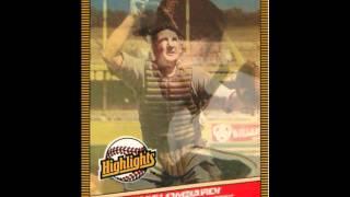 1986 DONRUSS HIGHLIGHTS SET - 56 CARD CHECKLIST
