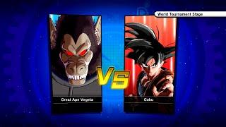 Dragon Ball Xenoverse Goku Vs Great Ape Vegeta