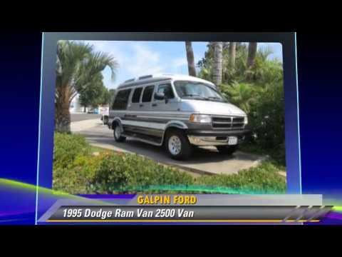 1995 Dodge Ram Van 2500 Van Galpin Ford North Hills Youtube