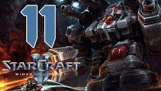 Прохождение StarCraft 2: Wings of Liberty #11 - Машина войны [Эксперт]