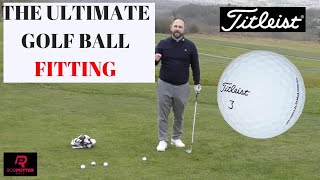 Rob Potter Titleist Golf Ball fitting - Extended Cut