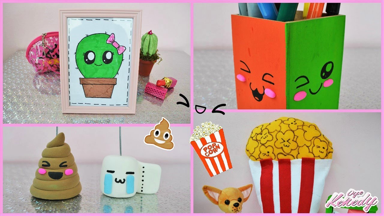 Decora tu habitaci n ideas kawaii ft consejosjavier for Cosas recicladas para decorar tu cuarto