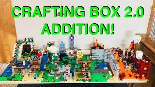 Adding Crafting Box 2.0 (21135) to Our Huge Lego Minecraft World!