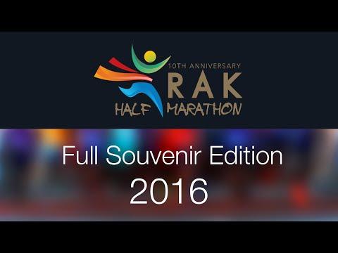 RAK Half Marathon 2016 - Full Souvenir Edition