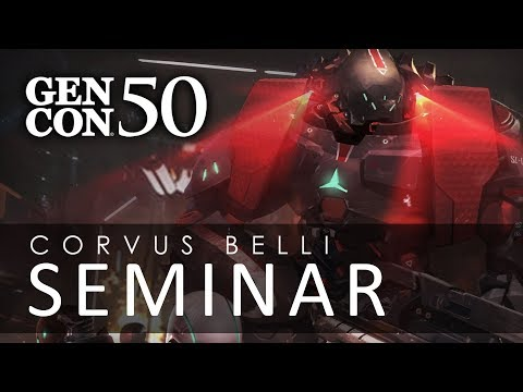 Corvus Belli at GenCon 50 Seminar