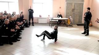 Осуждённые ИК-54 станцевали брейк-данс в честь Дня защитника Отечества