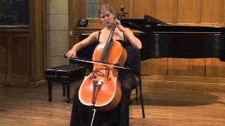 Laura Usiskin - Bach Cello Suite in C Major - Prelude