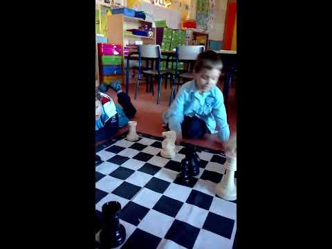 Enseñar Ajedrez a niños de 3 años