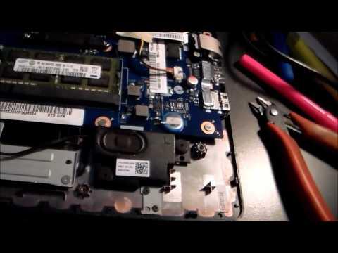 Lenovo  S 400 hinge repair