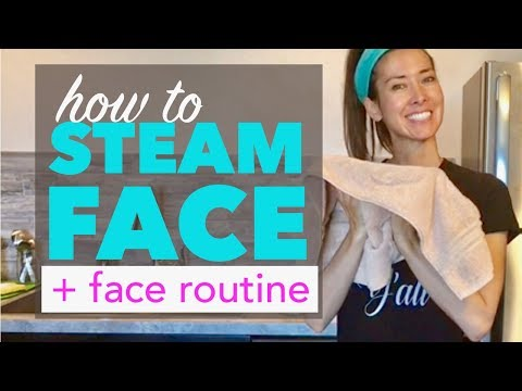 How to Steam Your Face at Home for Acne and Blackheads | Exfoliation, Steam, Toner
