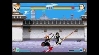 Bleach Vs Naruto 2.4 Ichigo Vs Byakyuya |ft. Marshmello| Round 2 !