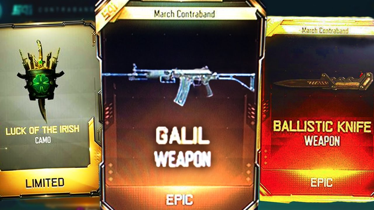 galil amp ballistic knife in black ops 3 � new black ops