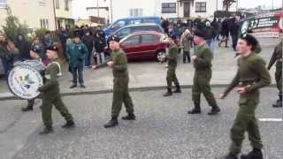 Easter Rising rally in Derry