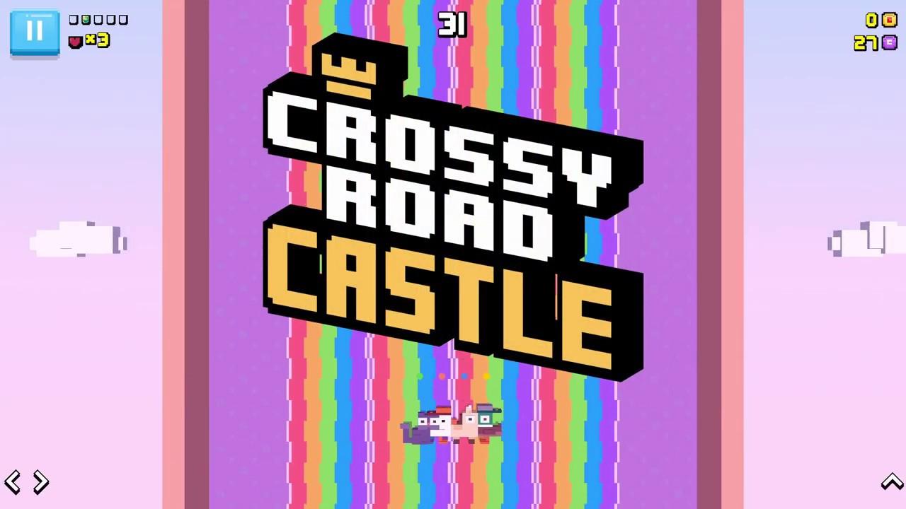 Crossy Road Castle coming soon to Apple Arcade