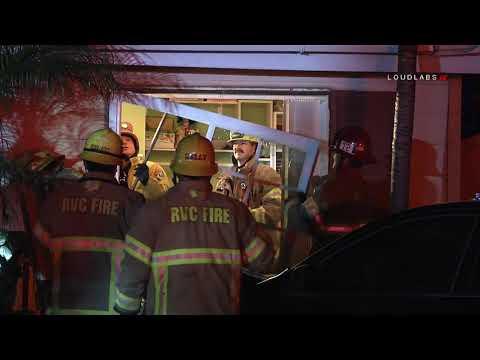 Vehicle Crashes Into Home / Moreno Valley  2.20.19