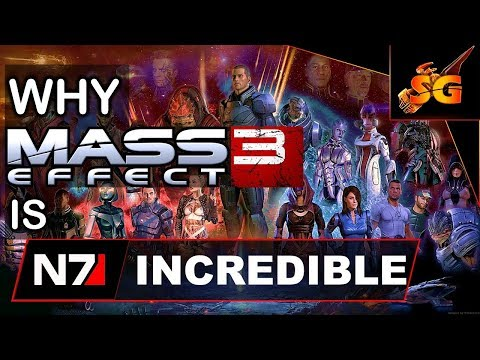 Why Mass Effect 3 Is Incredible ( A Mass Effect 3 Celebration and Analysis 5 years Later)
