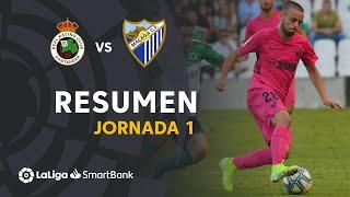 Resumen de Real Racing Club vs Málaga CF (0-1)