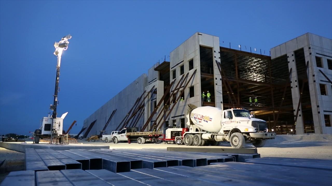 GO-TILT Construction | Telemundo Miami, Florida