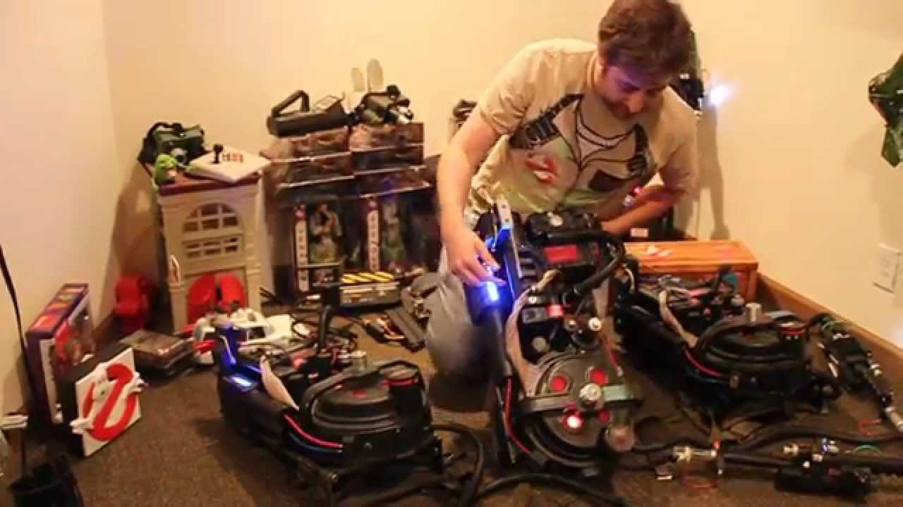 Ghostbusters Proton Pack Prop Replica With Lights And