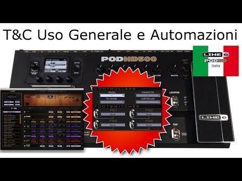 Line6 Pod HD ITA - Tutorial Trucchi e Consigli: Generali e Automazioni