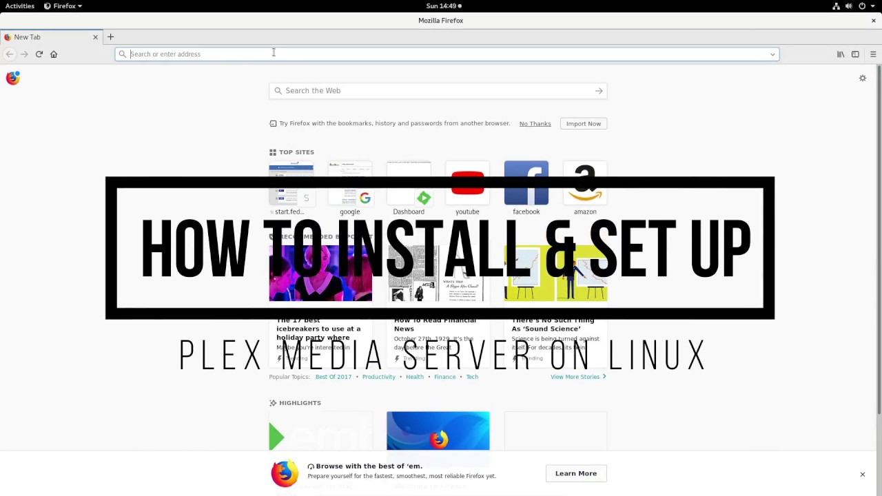 How To Install & Set Up Plex Media Server On Linux