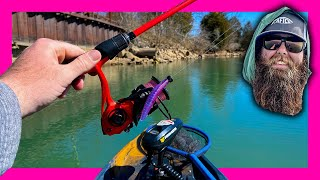 The Bait I HATE Strikes Again GRINDING Out Late Winter River Bass