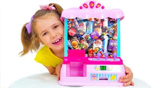 Katy y su máquina expendedora de juguetes