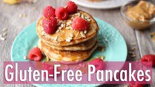 The Best Gluten Free Fluffy Pancakes Ever!  Healthy Breakfast Recipe