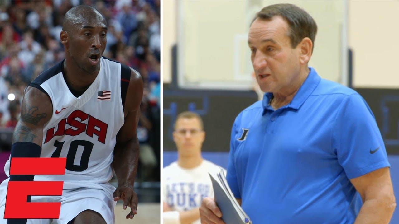 b9afdbd59971 Coach K gives Duke the message he gave to Kobe Bryant