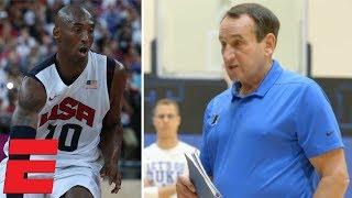 Coach K gives Duke the message he gave to Kobe Bryant | College Basketball