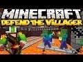 Minecraft: DEFEND THE TESTIFICATE! (Tower Defense Mini-Game!)