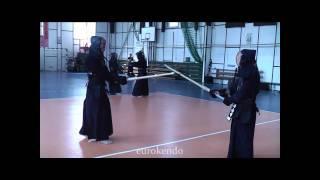 Yamanaka Sensei (8 Dan Hanshi) VS Potrafki Sensei (7 Dan) keiko demo