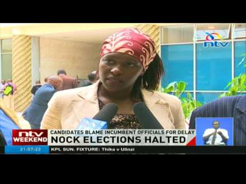 NOCK Elections halted: Candidates blame incumbent officials for delay